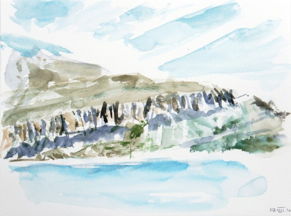 GREENLAND WATERCOLOUR