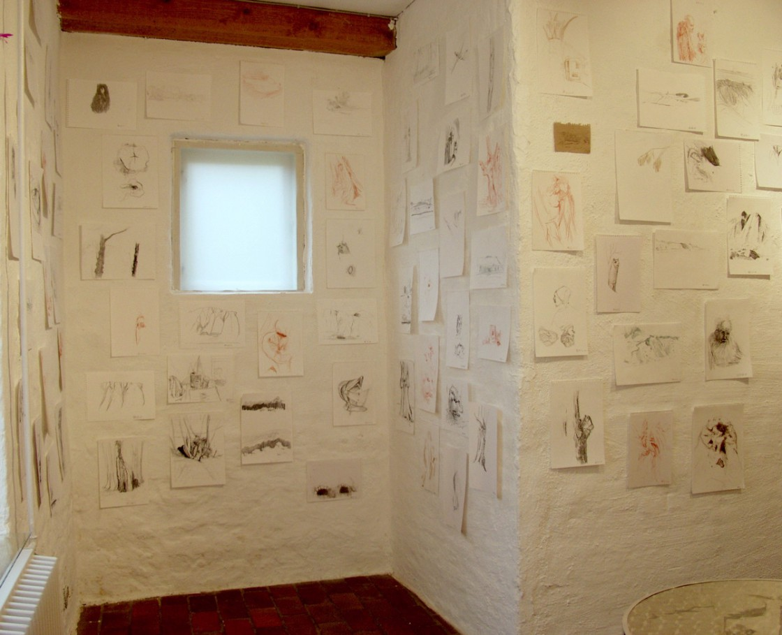 Observations (drawings) at the ground floor