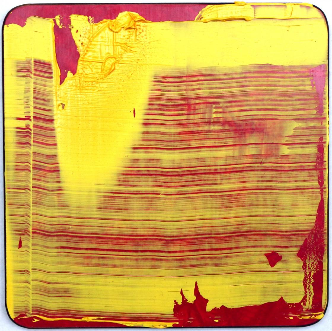#1 | Olie på smørebrædt | 13x13 cm | 2011