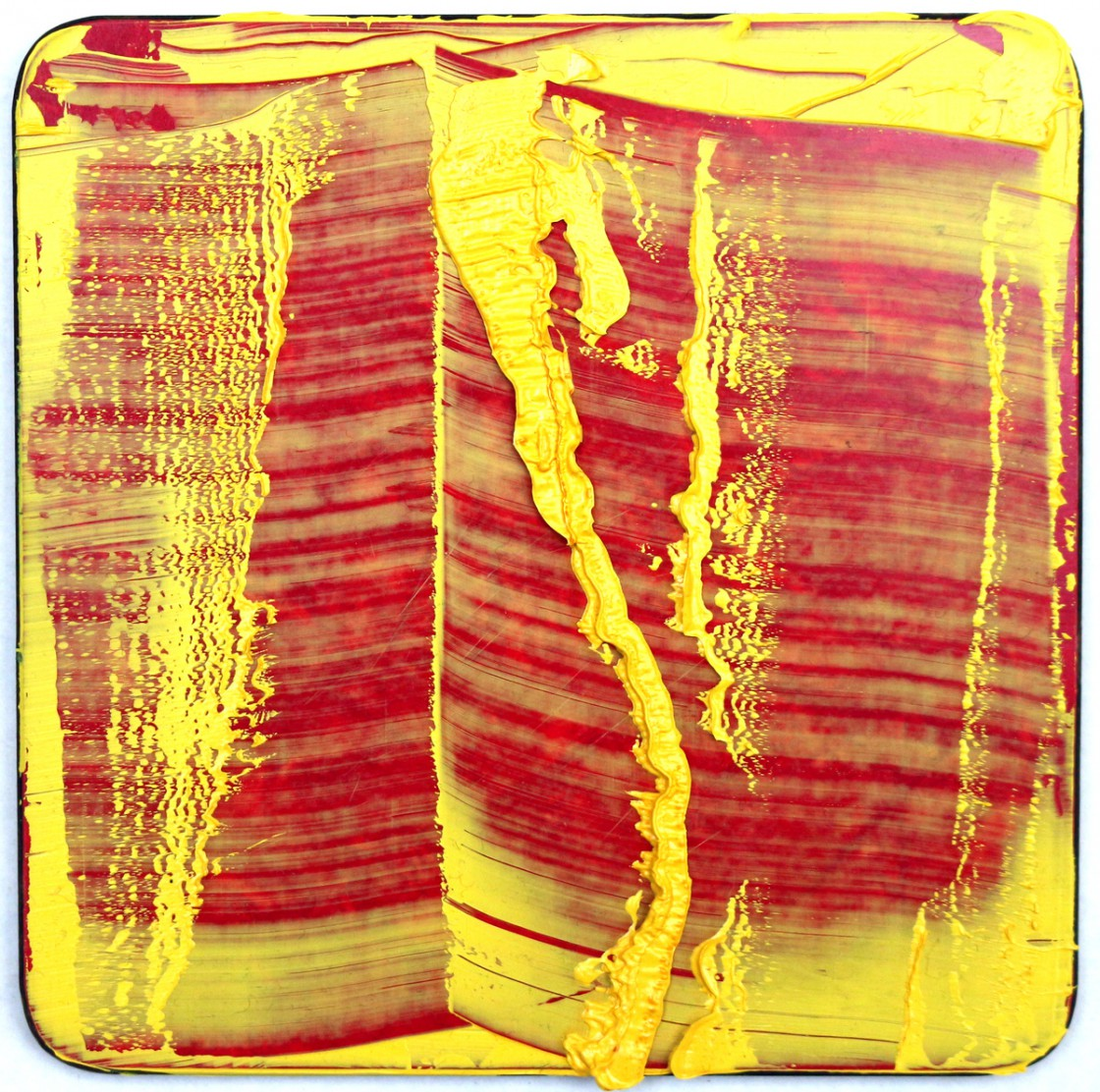#2 | Olie på smørebrædt | 13x13 cm | 2011
